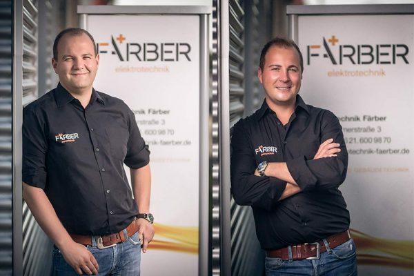 Benjamin Färber und Alexander Färber - Elektrotechnik Färber GmbH