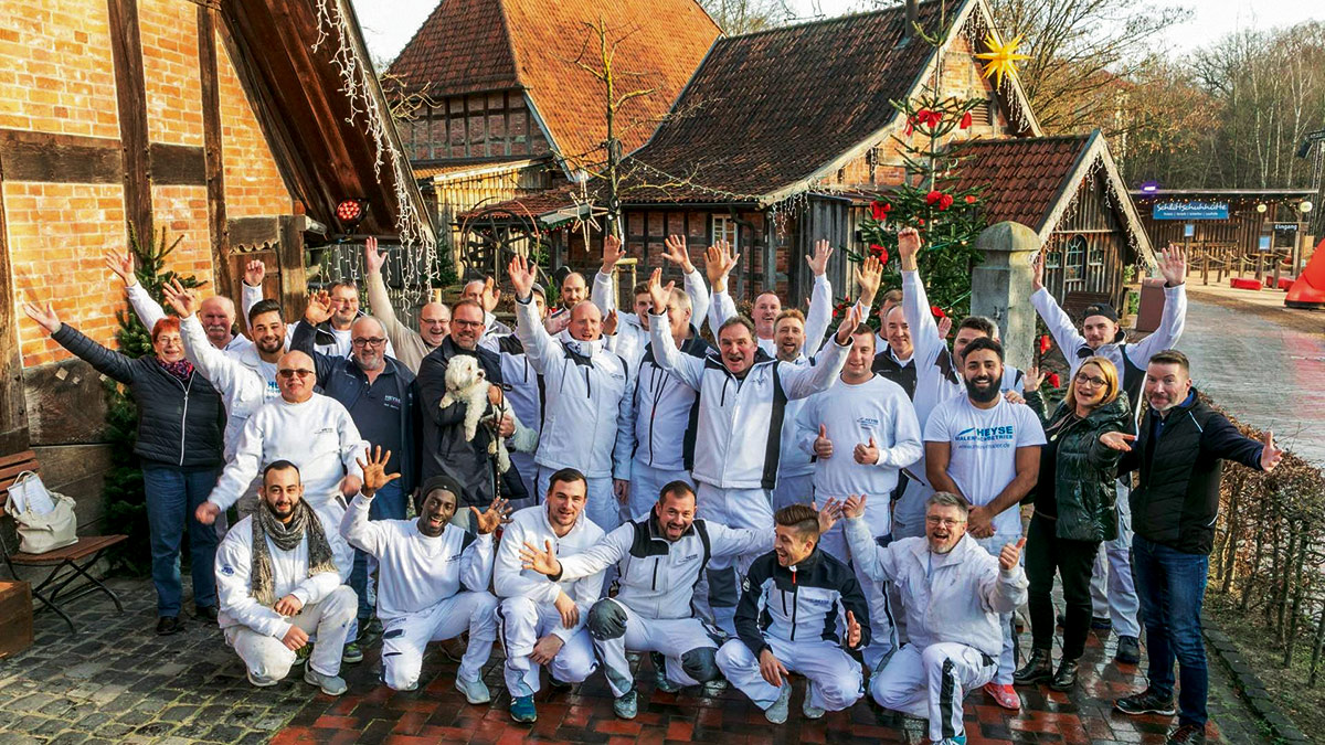 Malerfachbetrieb Heyse GmbH & Co.KG Team