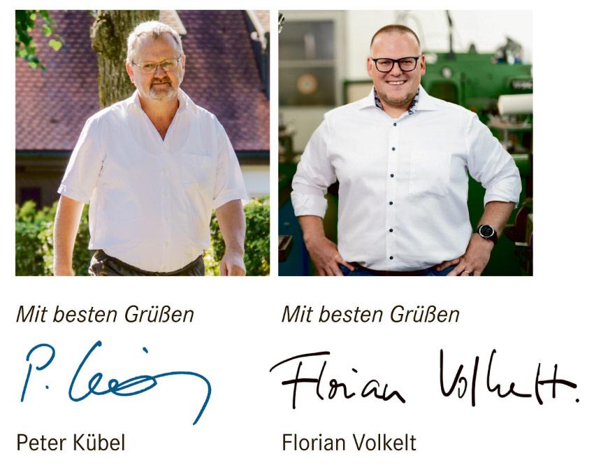 Peter Kübel und Florian Volkelt